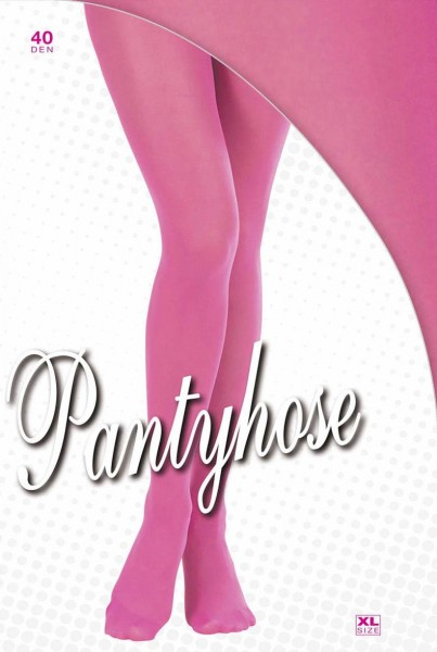 Pinke Strumpfhose XL