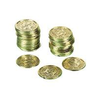 Amscan 72 Goldmünzen Pirat