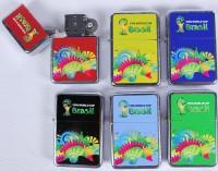 Benzinfeuerzeug WM 2014 Brasilien
