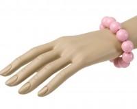 Armband 70er rosa