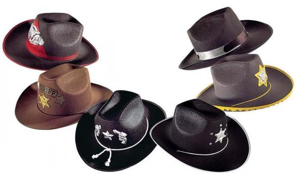 Cowboyhut verziert
