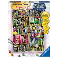 RAVENSBURGER Malset Magisches Bücherregal