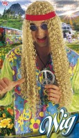 Perücke Hippie