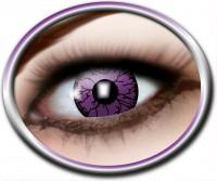 Kontaktlinsen violettes Monster
