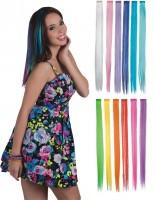 Haarverlängerung farbig