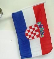 Autofahne Kroatien