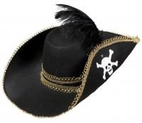 Piratenhut mit Feder