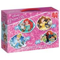 JUMBO Puzzle Princess 4 Konturen-