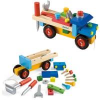 Bausatz Lastwagen bunt 17tlg.