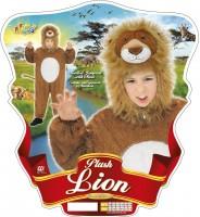 Kinderkostüm Löwe 3 bis 5 Jahre
