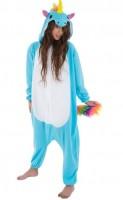 Kostüm Blaues Einhorn M