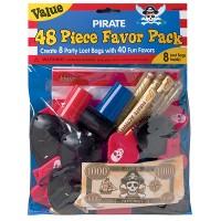 Amscan Piraten-Party-Set 48tlg.