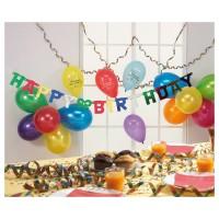 TIB HEYNE Party-Set Happy Birthday