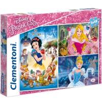 Clementoni Puzzle Princess 3x48 tlg.