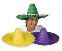 Sombrero Mexiko assortiert