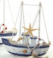 Fischerboot Deko