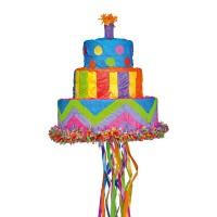 Pinata Geburtstagskuchen