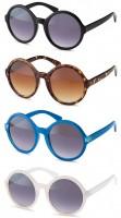 Sonnenbrille mit grossen Gläser