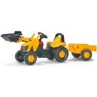 Rolly Toys rollyKid JCB mit Lader+Anhänger