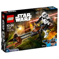 LEGO STAR WARS Scout Trooper & Speeder Bike