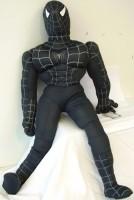 Plüsch Spiderman 85cm schwarz