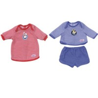 Baby Born Nachtwäsche Pyjama Boy and Girl assortiert