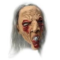 ZOELIBAT Maske Dämon mit Kunsthaar