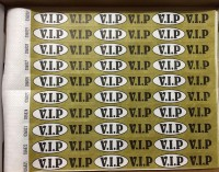 "Kontrollbänder ""VIP"""