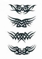 Aribrush Tattoo Tribal mittel
