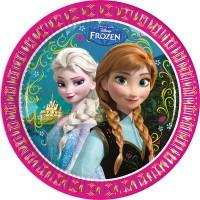 Frozen 8 Kartonteller Frozen 23cm