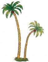 Wanddeko Palmen