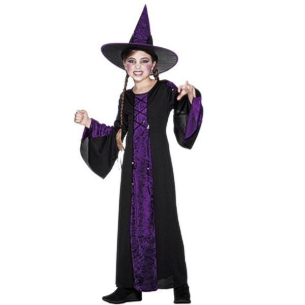 Hexe verzaubert M (7-10), Kinder Kostüme