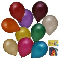 Ballone metallic, 1 Beutel à 10 Stück