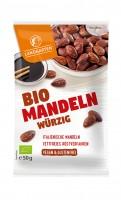 Landgarten Bio Mandeln würzig 50g Btl. x 10