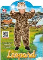 Plüschleopard Kinderkostüm 2 bis 3 Jahre