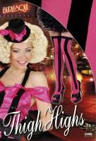 Pinke Burlesque Strümpfe