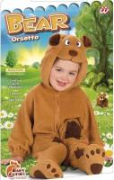 Bärchen Kostüm für Kinder 1 bis 2 Jahre