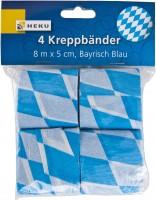 Kreppbänder Bayrisch