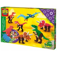 SES SES Bügelperlenset Dinosaurier