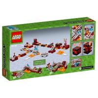 LEGO MINECRAFT Die Nether-Eisenbahn