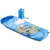 Die Schlümpfe Schlafsack blau