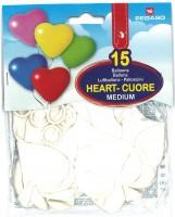 Herzballone weiss