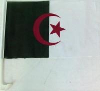 Autofahne Algerien