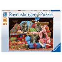 RAVENSBURGER Puzzle Flauschiges Vergnügen