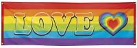 Regenbogen-Banner