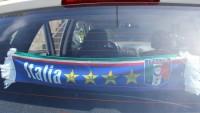 Autofahne Italien
