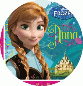 Partyset Deko Frozen