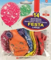 Gummiballone für Party