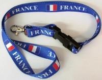 Umhängeband Frankreich