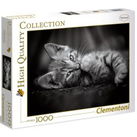 Clementoni Puzzle Katze Kitty 1000 teilig